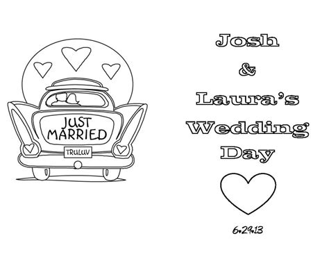 free coloring pages wedding activity coloring pages page