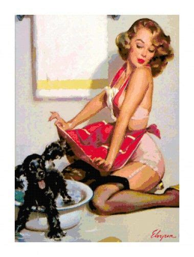 pin up girl in bathtub bath dogs and retro girls on pinterest