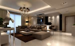 Of a living room in a brown color is that no matter what visual style