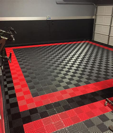 garage flooring installation