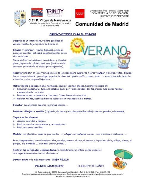vacaciones infantil 4 aos 8468087556 recomendaciones para el verano 4 a 241 os
