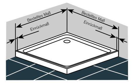 Montage Einer Duschwanne by Eckdusche Und Duschkabine Mit Eckeinstieg Glasprofi24