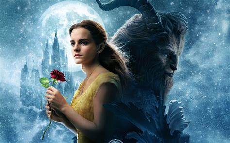 beauty and the beast beauty and the beast movie movies hd 4k wallpapers