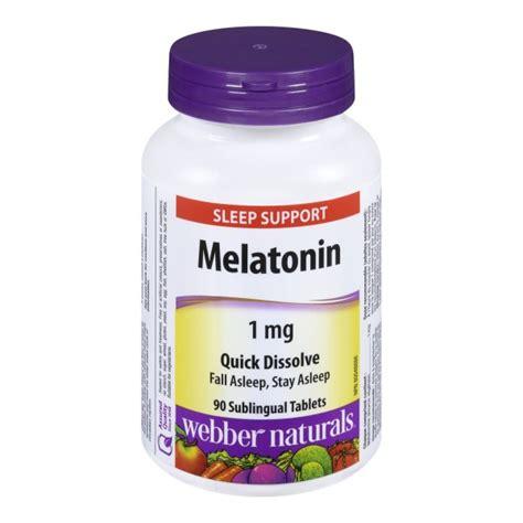 the best melatonin buy webber naturals melatonin sleep support sublingual