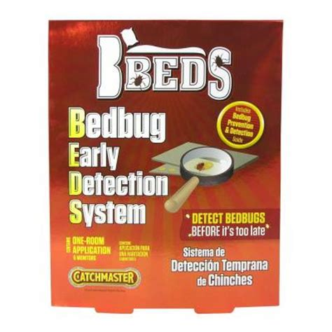catchmaster bed bug early detection system of 12
