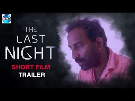 night bus film trailer the last night telugu suspense thriller short film trailer