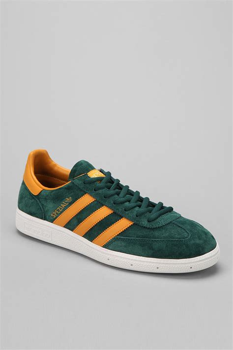 outfitters adidas spezial suede sneaker in green for lyst