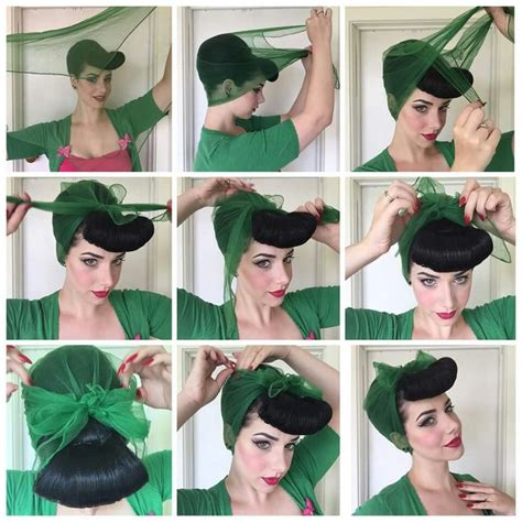 diy rockabilly hairstyles miss victory violet rockabilly pinterest violets