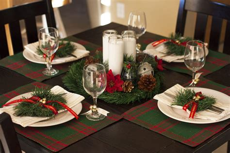 festive home decor 10 christmas table decoration ideas a classic plaid christmas tablescape small stuff counts