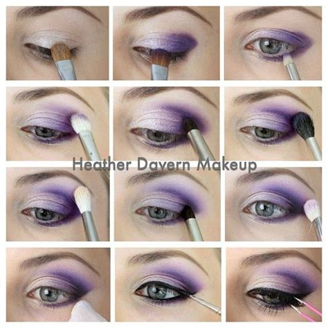 Tutorial Eyeshadow Wardah Seri E purple eyeshadow tutorial this is to what i wear almost daily maquillage