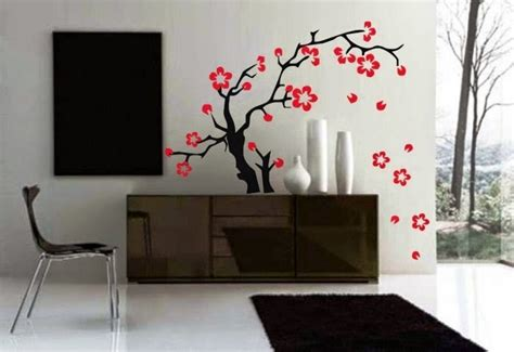 wall paint japanese interior wall painting ideas
