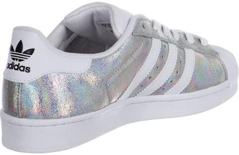 Wei E Schuhe by Adidas Superstar Damen Schwarz Glitzer Adventurenews De