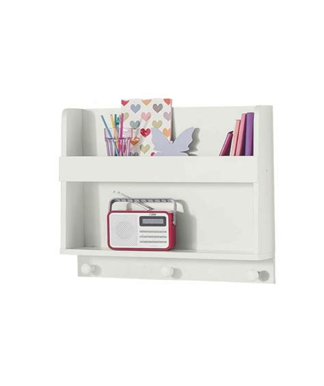 Buy White Shelves Buy Scandinavia Shelving Display Unit With Hooks