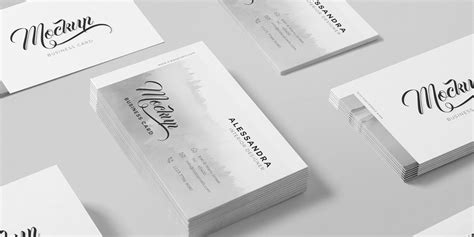 Business Card Template Psd Isometric by 100 Free Business Card Mockup Psd 187 Css Author