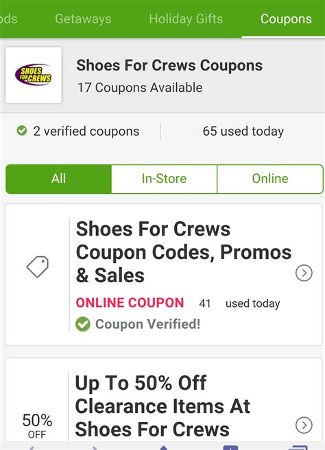 shoes for crews coupons shoes for crews coupon 28 images shoes for crews