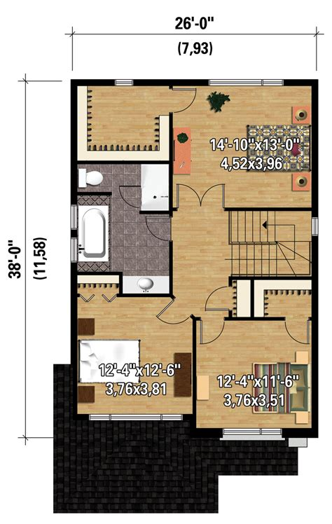 house plan 1761 square feet 57 ft contemporary style house plan 3 beds 1 00 baths 1761 sq