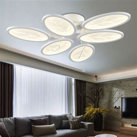 Dining Room Ceiling Light Fixtures by Surface Mounted Modern Led Ceiling Lights For Living Room