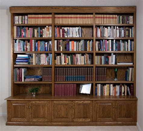 custom made bookshelves crafted build in oak bookcase by downing woodworking custommade