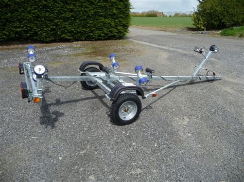 boat trailer rollers ireland sunway sw220m16 with rollers leroni trailers