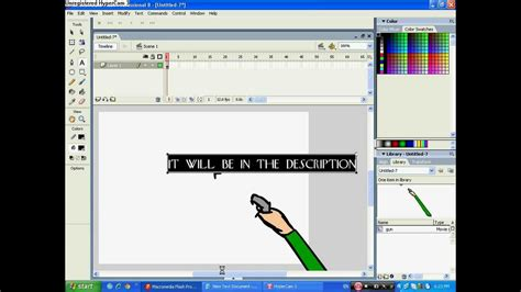 tutorial quiz flash 8 part 3 how to make a basic shooting game on macromedia