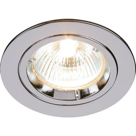Fixed Ceiling Lights Endon Cast Fixed Recessed Downlight In Chrome Finish 52329 Lighting From The Home Lighting
