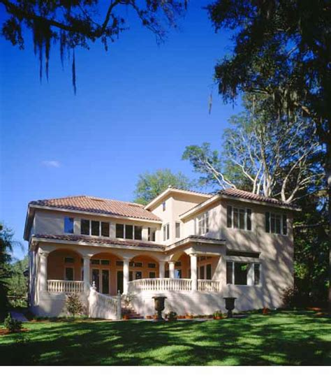 Two Story Florida House Plans by Florida Style House Plans 5091 Square Foot Home 2