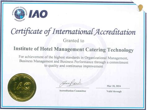 design management certificate sle certificate of hotel management image collections