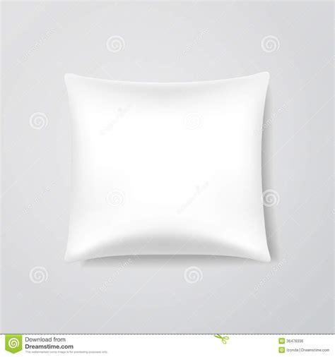 Pillow File vector blank pillow royalty free stock image image 36476336