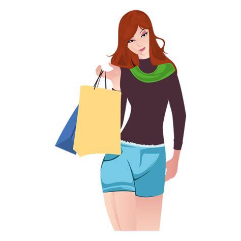Blouse Big Transaparan Bl 64 shopping with bags transparent png svg vector