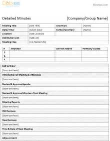 Minutes Of Meeting Template by Meeting Minutes Templates Twelwe Image