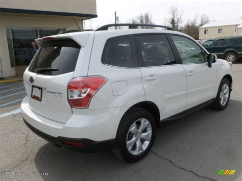 white subaru forester 2014 2014 satin white pearl subaru forester 2 5i limited
