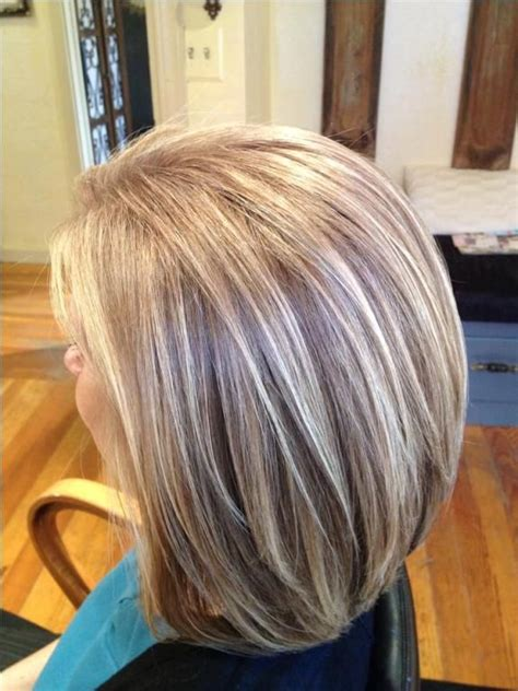 ash blonde to blend grey covering gray hair with highlights imageseditor site