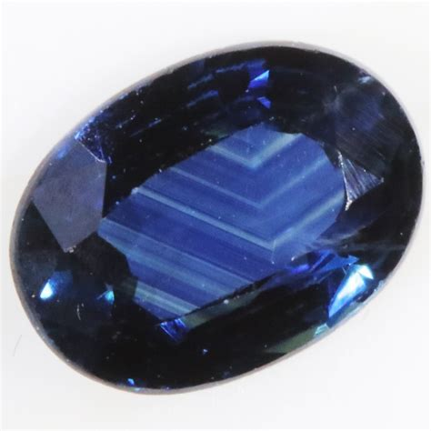 Blue Sapphire Madagascar Africa 3 1 44 cts certified unheated blue sapphire madagascar sm13111712 sa