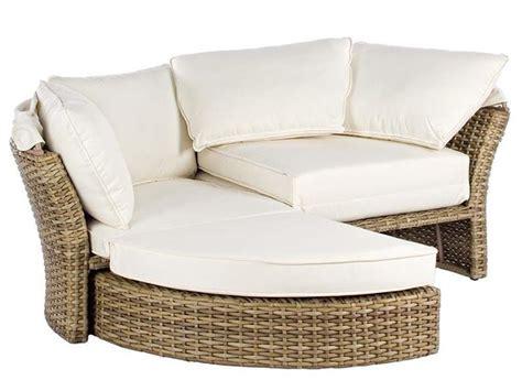 divani in vimini da giardino salpi divano da giardino in rattan sintetico con
