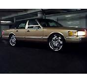 K OzZs Lincoln Town Car On 24s  YouTube