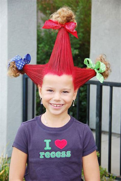 hair day ideas wacky hair styles 20 scary hairstyle ideas looks for