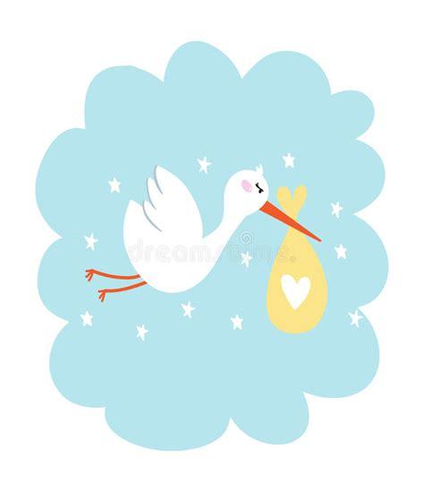 Wallpaper Kulkas 2 Pintu Motif Storks cegonha ilustra 231 227 o do vetor do beb 234 ilustra 231 227 o do vetor ilustra 231 227 o de anivers 225 projeto