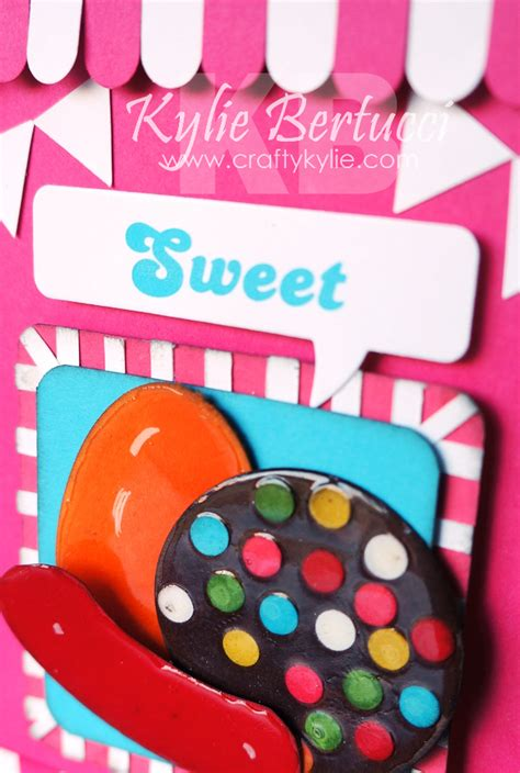 kylie bertucci independent demonstrator australia crazy crafters march blog hop - Candy Crush Gift Card