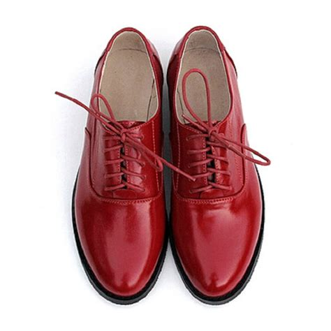 Pointed Brogue Oxfords new genuine leather oxford shoes for style