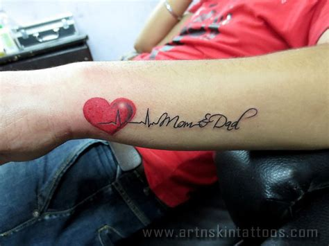 mom dad wrist tattoos designs search tattoos