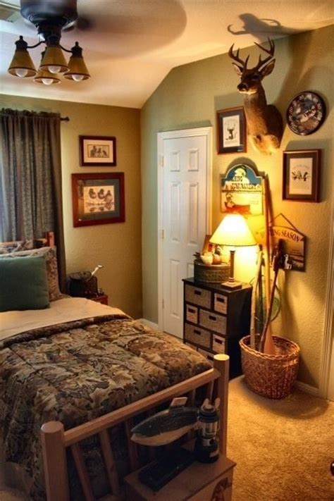 hunting bedroom ideas camo hunting bedroom for the home pinterest