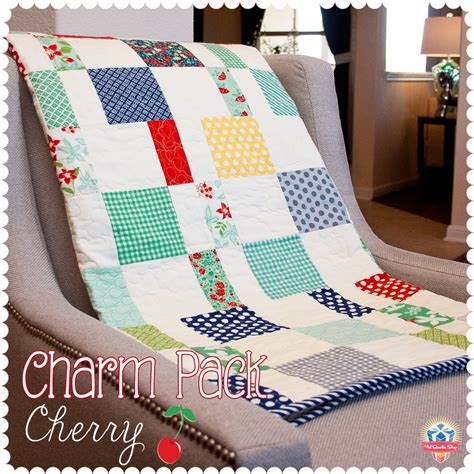 Quilt Packs by Charm Pack Cherry Free Quilt Pattern Diary Of A Quilter