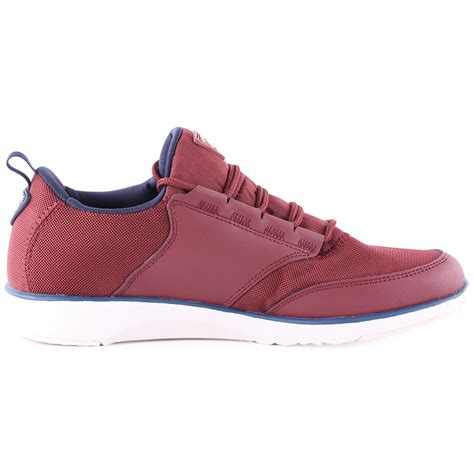 lacoste l ight trf5 mens textile maroon trainers new shoes