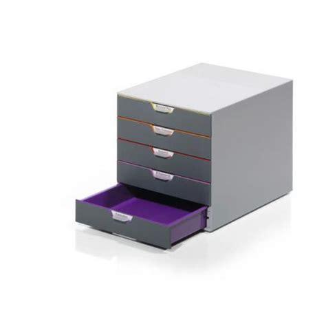 Plastic Drawer Set Durable Varicolor 5 A4 Plastic Desktop Drawer Set With