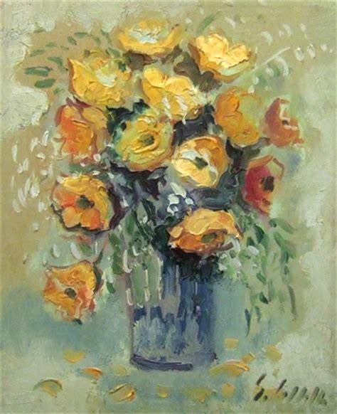 dipinti di vasi con fiori quadro di emanuele cappello vaso con fiori