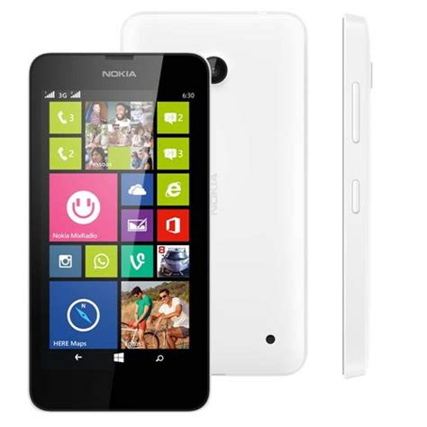 Nokia Lumia Windows 8 1 ponto frio smartphone nokia lumia 630 branco dual sim tv digital windows phone 8 1 tela 4 5