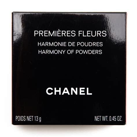 Chanel Premiere Fleurs Harmony Of Powder chanel premieres fleurs harmony of powders review swatches