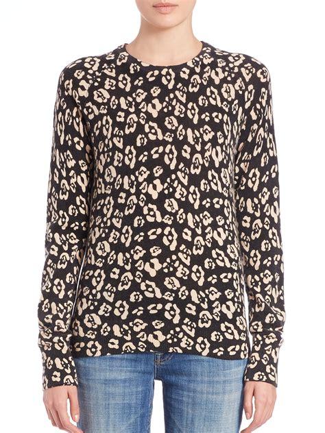 lyst equipment sloane leopard print sweater