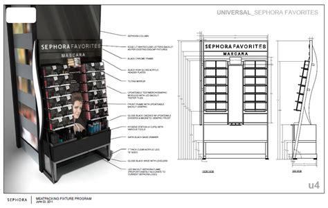 Floor Plan Presentation sephora retail fixtures new design language by alexis
