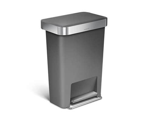 poubelle de cuisine rectangulaire poubelle de cuisine rectangulaire automatique 40l en inox